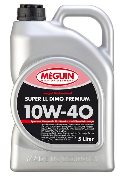 Meguin Super Leichtlauf DIMO Premium 10W-40, 5л.
