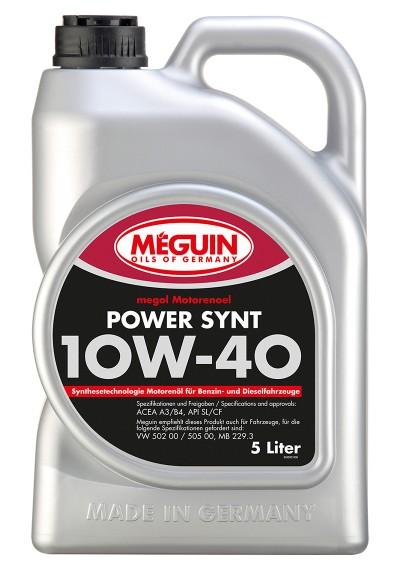 Meguin Power Synt 10W-40, 5л.