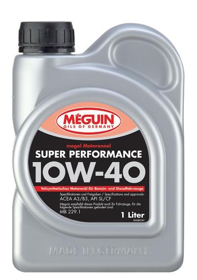 Meguin Super Perfomance 10W-40, 1л.