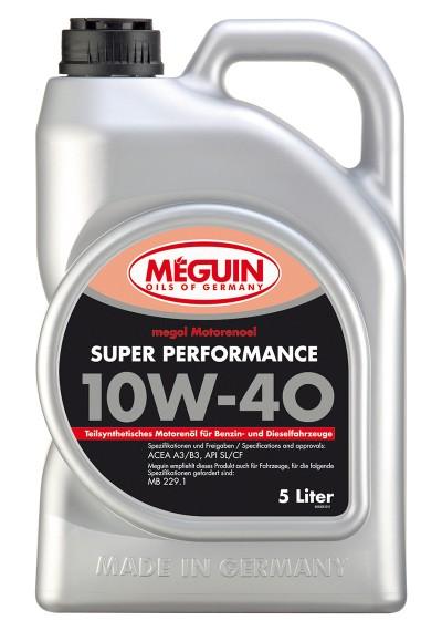 Meguin Super Perfomance 10W-40, 5л.