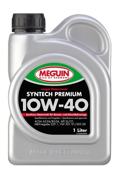 Meguin Syntech Premium 10W-40, 1л.