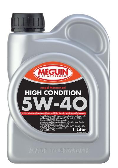 Meguin High Condition 5W-40, 1л.