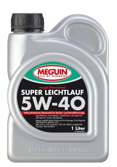 Meguin Super Leichtlauf 5W-40, 1л.