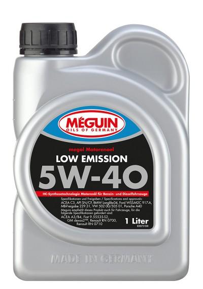 Meguin Low Emission 5W-40, 1л.