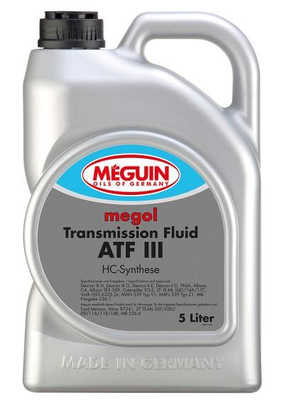 Meguin megol transmission-fluid ATF III, 5л.